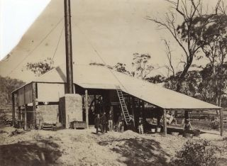 Hill End Gold Mine, NSW]. Charles Bayliss, Henry Beaufoy Merlin, Aust