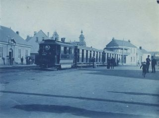 [Queen Victoria Market, Sydney] and [Tram, King St Near Enmore Road, Newtown, NSW]