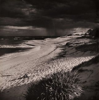 Sunlit Beach With Distant Rain]. Max Dupain, Aust