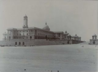 Secretariat Building, New Delhi, India and Secretariat, South Block (Military), New Delhi,...