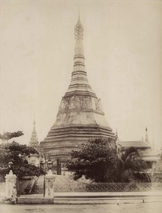 The Soolay [Sule] Pagoda, Rangoon [Burma