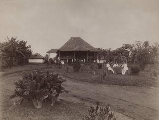Colonial Lodge With Thatched Roof, Malaysia