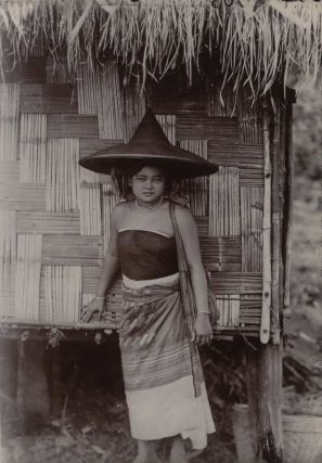 Burma. A Typical Shan Girl