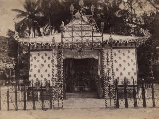 Pavilion For The King Of Siam With Attendants, Thailand