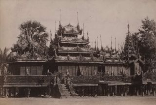 Views Of Religious And Royal Architecture, Burma