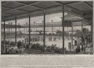 Fête Donnée Aux Viellards Par L'Empereur Kien-Long, Le 14 Fevrier 1785 (Feast For Elders...
