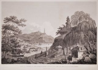 View Of The Tower Of The Thundering Winds On The Borders Of The Lake See Hoo, Taken From The Vale...
