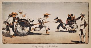 B'long Hong Kong Lickshaw [Sic]. H D. Collison-Morley, Brit.