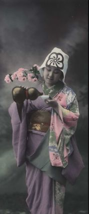 Japanese Woman Pouring Sake