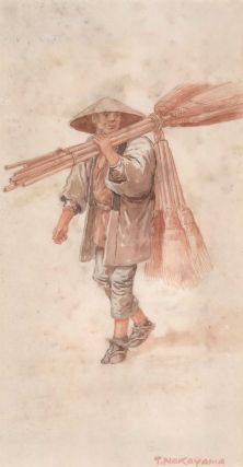 Broom Seller, Fishmonger, Rickshaw Runner, Japan]. Takashi Nakayama, Japanese