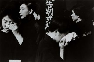 Funeral Of A Kabuki Actor, Japan. Henri Cartier-Bresson, French
