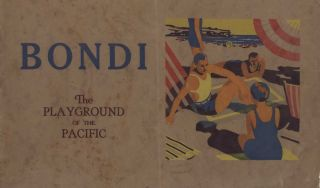 Bondi Beach Booklet and Souvenir Badges (Patches