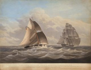 """[H.M. Revenue Cutter """"Prince George"""", On Voyages To And From Sydney]"""