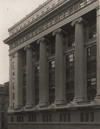 Construction Of Government Savings Bank Of NSW, Martin Place, Sydney