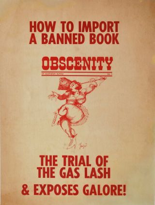 """Obscenity: An Australian Survey, No. 1"""
