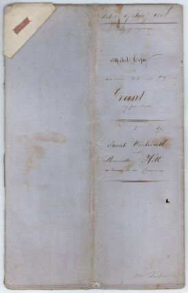 Grant Of Land Parcels In Alfred Street And Macquarie Place, Circular Quay, Sydney