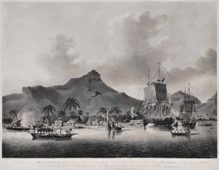 View Of Huaheine, One Of The Society Islands In The South Seas [Tahiti]. After John Cleveley the Younger, Brit.