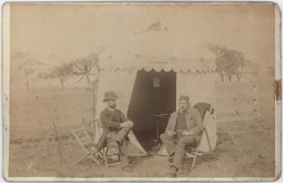 Morris Brothers With Camera Obscura In Tent]. Stephen Spurling II, Australian