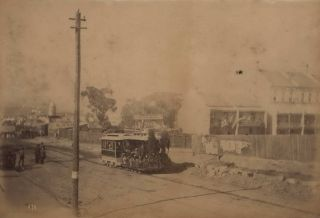Sydney Streets, Including Horse-Drawn Transport, And Trams]. fl. c. Aust., s