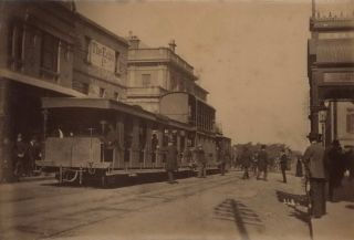 [Sydney Streets, Including Horse-Drawn Transport, And Trams]