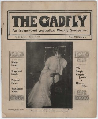 """The Gadfly"" Magazine And A.E. Martin Ephemera"