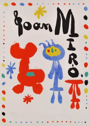 Poster For Exhibition Of 1948 (Galerie Maeght). Joan Miró, Spanish