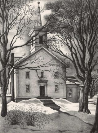Old New York State – Cold Brook [Methodist Church, Main Street]. Grace Paull, Amer