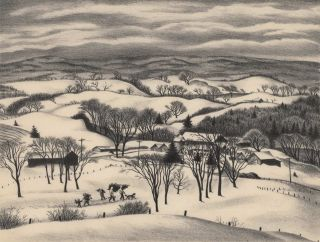 Snow In The Hills [Christmas Time]. Grace Paull, Amer