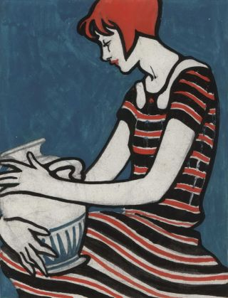 Woman With Urn]. D. Bailey