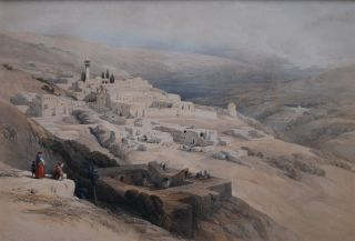 Convent Of The Terra-Santa, Nazareth. David Roberts, British
