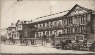 Parliament House [Macquarie St, Sydney]. Edward Warner, Aust.