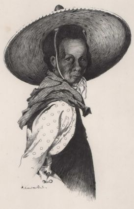 Southeast Asian Woman With Hat]. Sydney Woodward-Smith, Australian