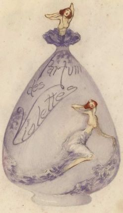 Suggestion For Perfume Bottle. Margaret Campbell, Australian.