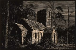 Ben Boyd's Church, Twofold Bay [NSW]. L. Roy Davies, Australian
