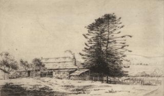 An Old Home, Manly Vale. Helen Farmer, Aust