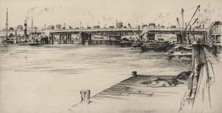 Pyrmont Bridge [NSW]. John Goodchild, Aust