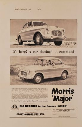 It's Here! A Car Destined To Command. Morris Major