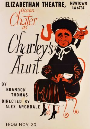 "Gordon Chater As ""Charley's Aunt"". Robert Hughes, Aust"