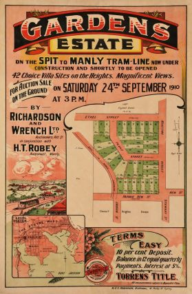 Gardens Estate On The Spit-Manly Tram Line