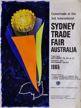 Come Trade At The 3rd International Sydney Trade Fair