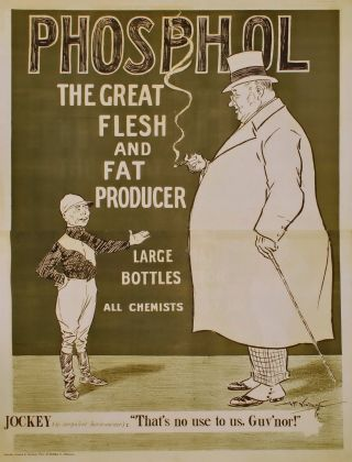 Phosphol. The Great Flesh And Fat Producer. Alfred Vincent, Aust