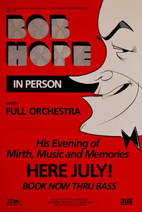 Bob Hope. In Person With Full Orchestra