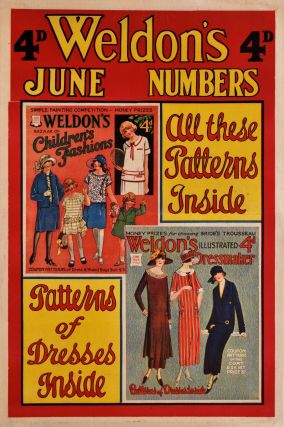 Weldon's June Numbers [Dressmaking Magazines