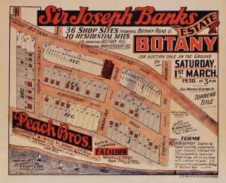 Sir Joseph Banks Estate, Botany