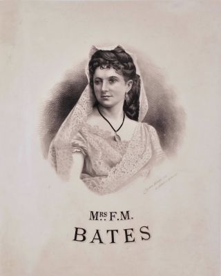 Mr [And] Mrs F.M. Bates