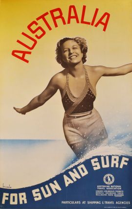 Australia. For Sun And Surf. Gert Sellheim, Aust