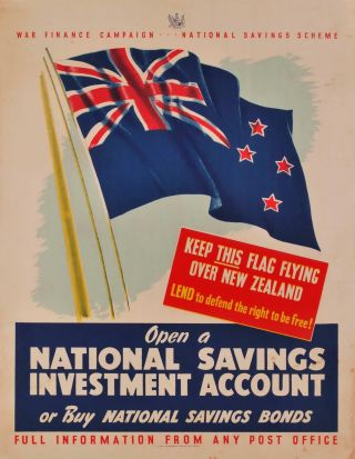 War Finance Campaign. National Savings Scheme