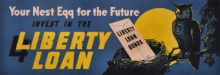Your Nest Egg For The Future. Invest In The 4th Liberty Loan