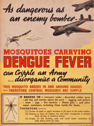 As Dangerous As An Enemy Bomber - Mosquitoes Carrying Dengue Fever