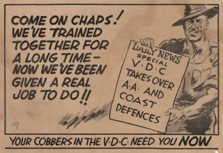 Come On Chaps! We've Trained Together For A Long Time [Volunteer Defence Corps